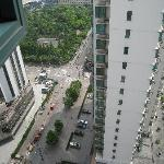 view from the 22e floor