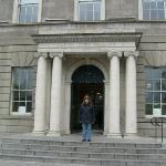In front of the Hugh Lane Gallery