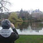 Ben being a photographer