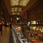 Leipzig Hauptbahnhof, the largest Bahnhof in Germany, with a 3 story Mall in the basement.