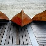Wooden Boats - Bintan, Indonesia