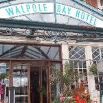 Walpole Bay Hotel Entrance