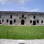 View of the fort's inner courtyard
