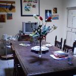 Breakfast area/ sitting room