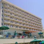Poseidonia Beach Hotel (from the beach)
