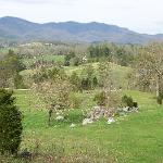 A beautiful view of the Smokies and bottom portion of the property