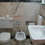 bathroom with bidet