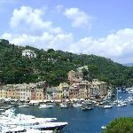View of Portofino (restaurant on the left)