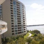Bay Lake Towers and Skywalk (Back)