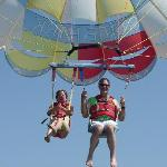 Parasailing at Table Rock State Park