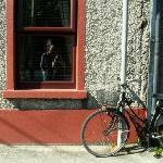 Quaint bike at Forge House B&B