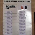 Starting Line-Ups