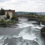 Falls in Spokane