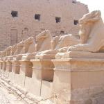 Avenue of Sphinxes ภาพถ่าย