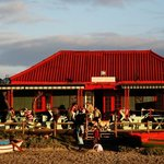 The Voorstrandt Restaurant on the beach !