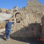 Cesarea. La salida del teatro de la ciudad. Hermoso exponente del empuje de esta ciudad romana e