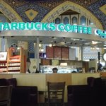 Best starbuck in the world. Is weirdly in Dubai. Ibn Battuta is where it is.