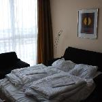 Additional bed in room