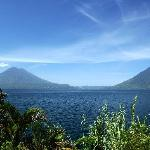 Lake Atitlan from Santa Cruz