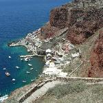 View of Amoudi Bay from OIA