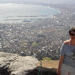 View from table mountain - fab!