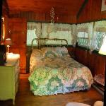cozy bedroom of cabin 2