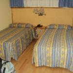 Las dos camas