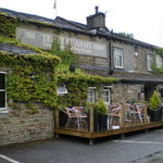 outdoor dining at The Tempest Arms