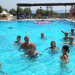 acqua gyn in piscina