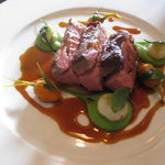 The West House - Romney Marsh Chump of Lamb with Pea Puree - Equally as delicious!