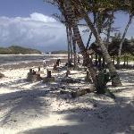 Pranzo in spiaggia a Ocean Breeze