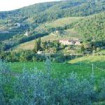 One of the views of the Castello from village of Lamole