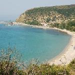 View across the bay at Katelios