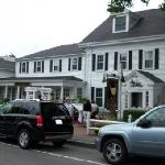 The front of the Wayside Inn in Chatham