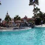 Una de las piscinas (agua dulce)