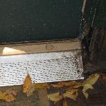 Rotten door plate
