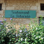 Rustic old stone building - excellent food