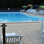 la piscine de l'hotel exterieur