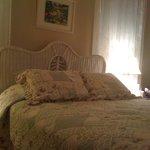 The Romantic Wicker Bed