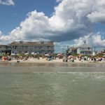 The Normandie Inn from the surf.
