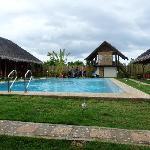 La piscine de la Villa Belza