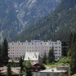 l'hôtel vu de la ville