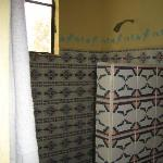 Clean Mexican Tiled Shower