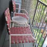 Teeny, tiny balcony