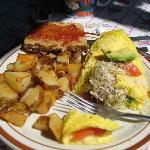 Meadow Mountain omelet