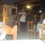 This was the dinner entertainment, he was great.  He wasn't too loud so you could eat and enjoy