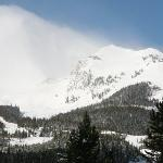 The upper basin of Lone Peak, a lot of nice runs there, not so good conditions when we were skii