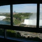 In Canada - Hotel room view