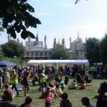 Brighton Food Festival - September 2007 - Pavilion Gardens. This is 3 blocks from my house. You