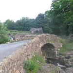 Ashness Bridge on way to the farm